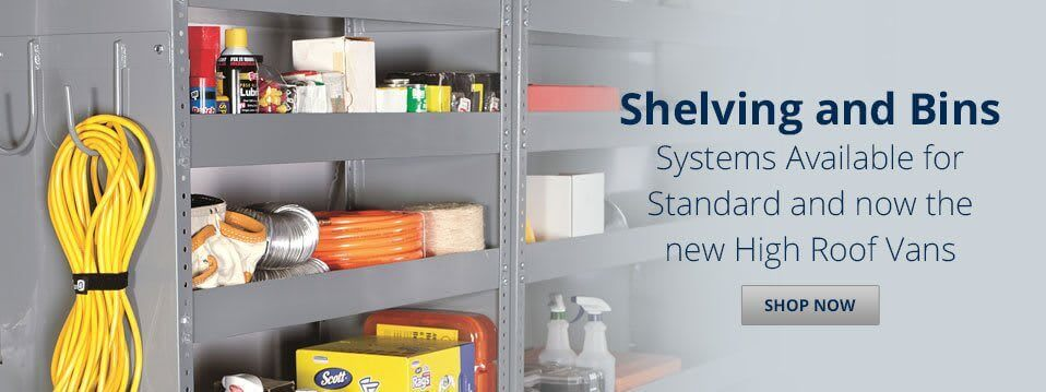 Shelving and Bins
