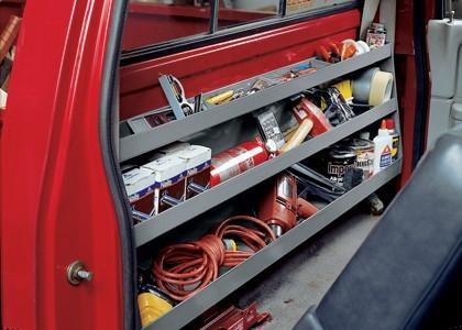 Under and Behind Seat Storage