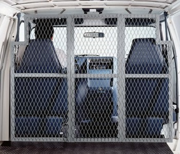 Expanded Metal Mini Van Partitions