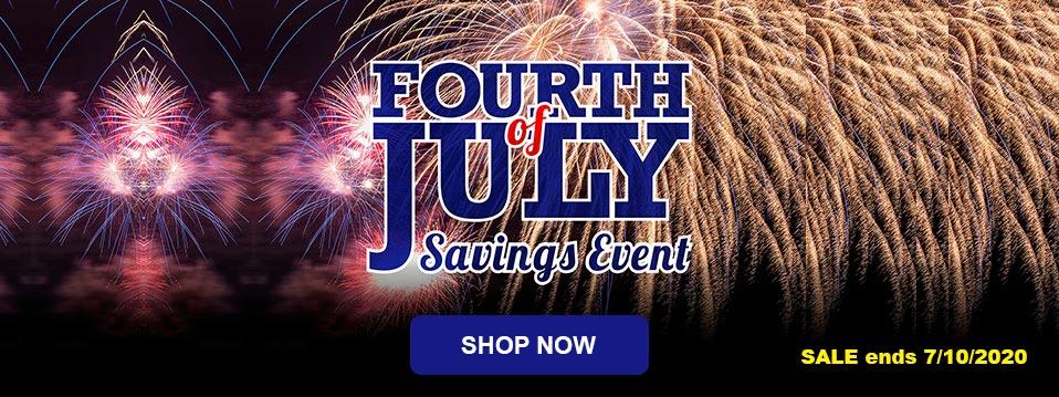 Fourth July Sale