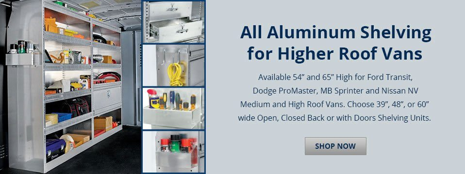 All Aluminum Shelving