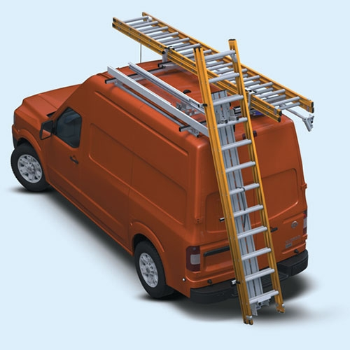 Nissan NV High Roof van with DeployPro<sup>TM</sup> and Rotation Rack
