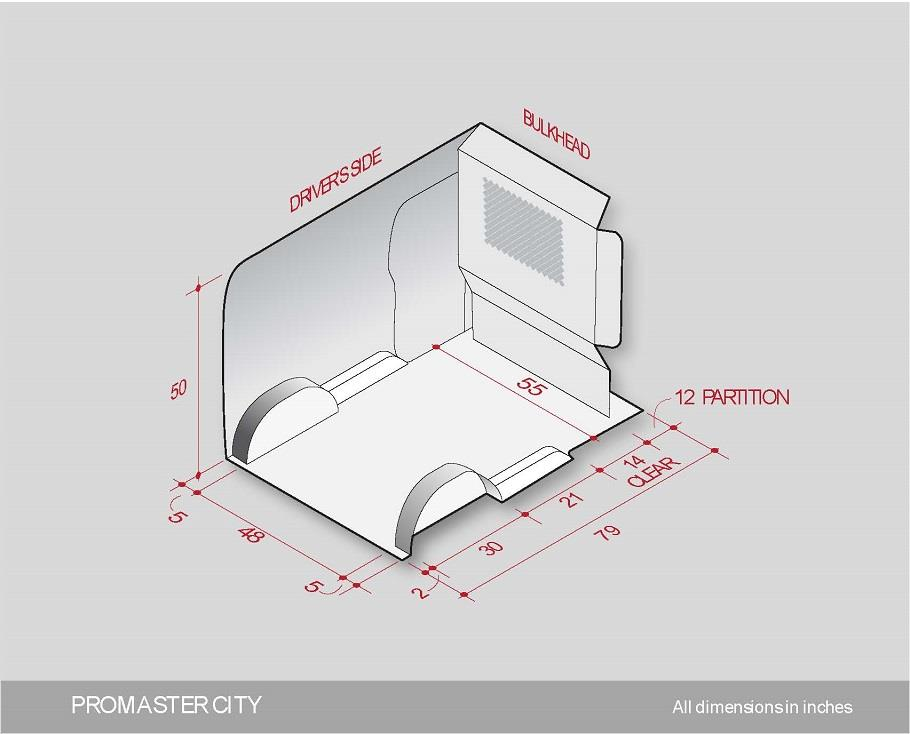 Superior RAM ProMaster City Interior Fit Guide Good Ideas